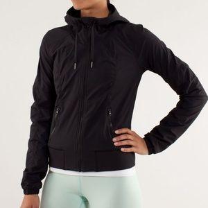 Lululemon Street to Studio Jacket Hooded Size 10